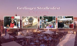 Gerlinger Straßenfest 2019 - Quelle Webcam der Stadt Gerlingen