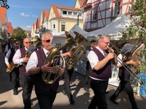 Musiker auf dem 40. Gerlinger Straßenfest 2019