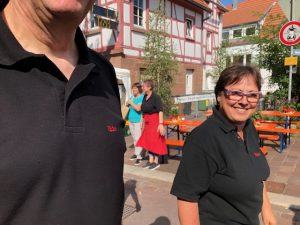 Mitglieder des FFC Gerlingen auf den Straßenfest 2019